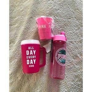 Victoria Secret Pink cup mug Lot